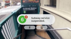 Google Glasses launch how useful the subway can be